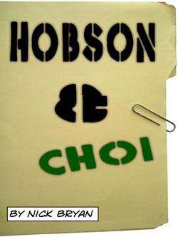 """Hobson & Choi #74: """"Agendas"""""""