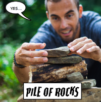 Out of Stock: Pile of Rocks