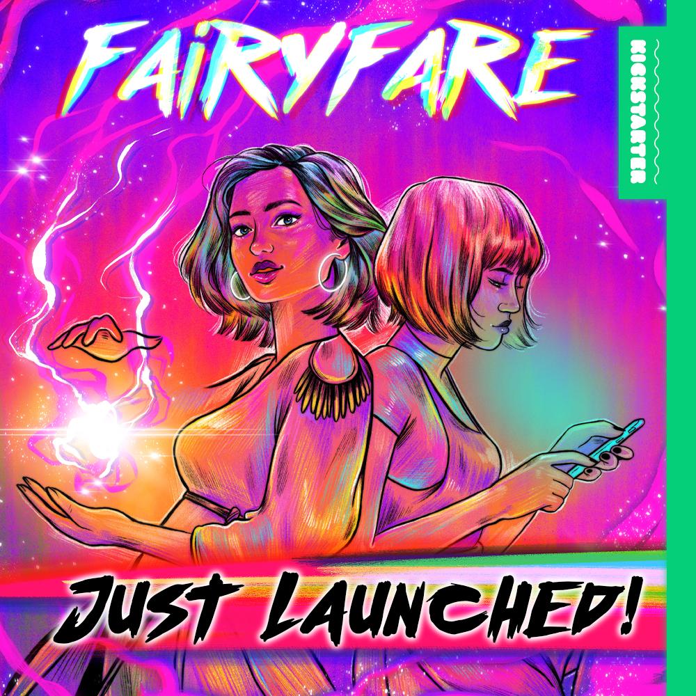 Fairyfare - live now on Kickstarter!